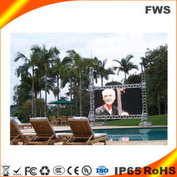 You Tube Video P6 Affichage LED de plein air pour la location stade.
