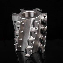 Spiralschneider mit Wendeschneidmesser für die Holzbeplankung (Robuste Ausführung)