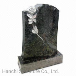 [إيوروبن]/[روسّين]/[أمريكن] أسلوب صوّان/شاهد القبر رخاميّة مع عادة تصميم
