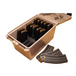 뛰어난 고무 개스킷 씰 군사용 보관 상자 금속 암모 캔