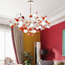 De moderne LEIDENE Kroonluchters versieren de Eetkamer van de Slaapkamer met Lichten