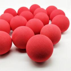 Della fabbrica sfera della gomma piuma di EVA colorata superficie regolare di alta qualità direttamente con la sfera dell'antenna della gomma piuma di EVA del foro per il giocattolo