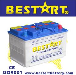DIN66 12V 66Ah les fabricants de batteries sèches Auto 56618 de batterie de voiture