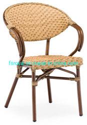 بسيط خارجيّ ألومنيوم [ب] [رتّن] [هند-وفينغ] [ستربوكس] كرسي تثبيت