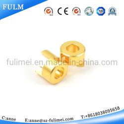 Commerce de gros fait sur mesure en ligne en acier inoxydable ou laiton Verre titulaire clip de fermeture