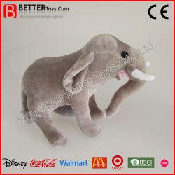 Elefante realista OEM Plush Soft Animal recheadas de brinquedos