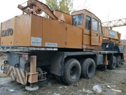 Usado Kato 50t Truck Crane Kato NK500e veículo rolante
