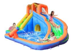 住宅の膨脹可能な水スライド(QW105)