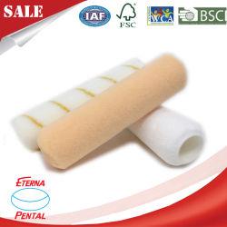 Il hardware decora l'utensile manuale di plastica del pennello del rullo di vernice della maniglia della fibra molle acrilica
