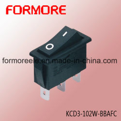 Interrupteur d'alimentation ou l'appareil l'interrupteur/contacteur Kcd3 pour rallonge