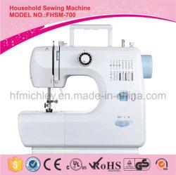 Macchina per cucire portatile elettrica della fabbrica della Cina mini per la famiglia (FHSM-700)