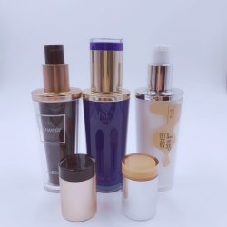 Cosmetics Travel Bottle Plastic Container