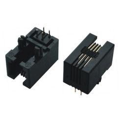 Connecteur femelle RJ11 4 broches femelle/MONUT Adaptateur PCB
