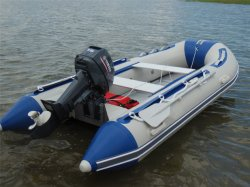 11.8FT 3.6m Rubberboten PVC-boot vissersboot Sportboot Rubberen boot Motor Boat Aluminium Boat