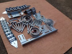 cerniera di spessore di 2.0mm/hardware del portello garage molla/della pista