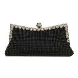 La mode nuptiale de trame de cristal de luxe Diamond Silver sac d'embrayage femmes soirée de mariage SAC SAC SAC D'EMBRAYAGE