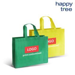 非編まれたショッピング・バッグは完全に作られたResuableを昇進環境に優しい広告機械で造る