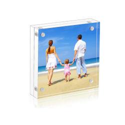 Настраиваемые Clear 6*9 Plexiglass акриловый магнит фотографии изображение