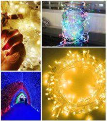 Décoration de Noël lumières de Noël 100 LED/ 200/ 300LED LED/ 400LED transparentes des feux de fil de chaîne