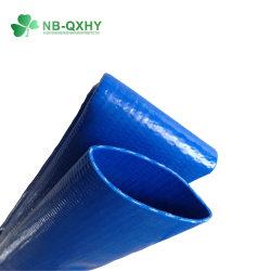 Heavy Duty 10 Bar Layflat Tubo de PVC tuberías de riego la manguera de suministro de agua de manguera industriales de la manguera de descarga