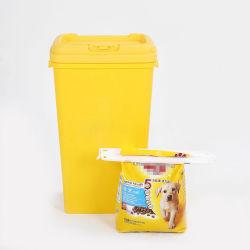53 l grote container voor diervoeding Dog Cat Animal Plastic opslag Bak 25 kg droge voeding