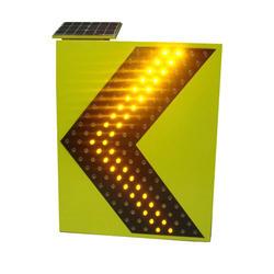 سهم الصمام علامة لوحة شيفرون للطاقة الشمسية الطريق السلامة المرورية لوحة إشارة تحذير Chevron