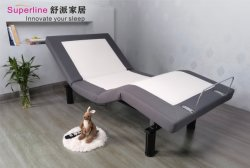 Superline Elektrisch verstelbaar kingsize bed Lifting Massage Bed AF10