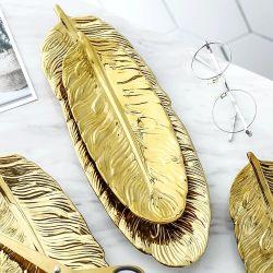Золотое перо Enameling гончарных изделий для украшения дома