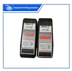 고품질 Willett 잉크젯 프린터 잉크 W563-D orignal Cij 잉크젯 프린터 잉크(MSDS 및 SGS RoHS 인증 포함)