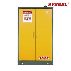 Пожарной Безопасности шкаф для хранения En стандартные, двойные двери, Self-Close, желтый (SE830450)