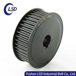 Gt2 personalizado de distribuição de alumínio de alta precisão polias e correias dentadas para máquina de transmissão das polias e correias dentadas