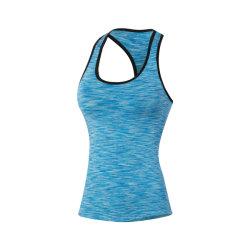 ヨガのベストの女性のセクシーな適性の摩耗の体操の衣服をカスタマイズしなさい