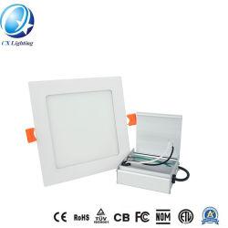 مصباح LED مجوف في مربع بقوة 6 واط