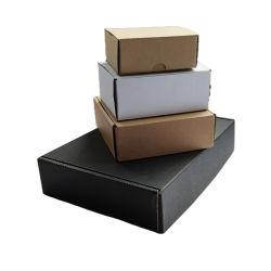 Shanghai Packing Factory Custom Luxury Paper Box Packaging Black Colour علبة على شكل طائرة