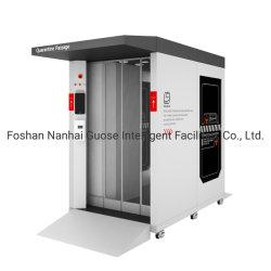 Esterilizador UV armário de desinfecção de temperatura inteligente de Spray de Medição de cabine de desinfecção