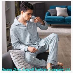 Homewear der Großhandels-Soem-besten Preis-Männer der organischen Loungewear Sleepwear Baumwollfrauen Nachtzeug-Kleidung Pajamas