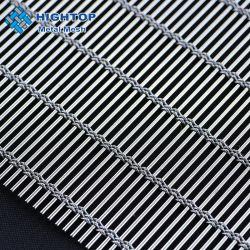 Cortinas de malla tejida decorativas para la construcción de fachada de seguridad
