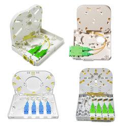 FTTH intérieur extérieur 1 2 4 6 8 16 24 coeurs Accueil Mini boîte à bornes de distribution à fibre optique