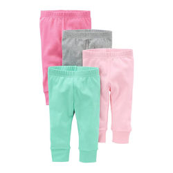 Best-seller 100% coton Baby Girls' 4-pack Pant