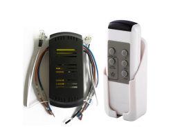 Ventilador de techo de la luz de infrarrojos y mando a distancia