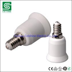 E14 a E27 Adaptador de Soquete da Lâmpada da Base da Lâmpada Lampholder do conversor