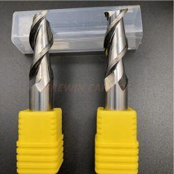 GW Carbide - D12X50X100 Kunstwolfraamcarbide vlakfrezen /3 Flutues Aluminium Milling Cuter met goede kwaliteit