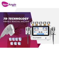 Beauty Salon Equipment 7D HIFU Wrinkle Removal Skin Tighting Ultrasound Machine voor het afslanken van de carrosserie