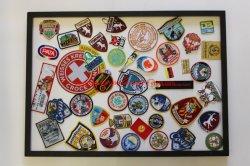 昇進のギフトのための高品質の刺繍および編まれた紋章のパッチおよびバッジ