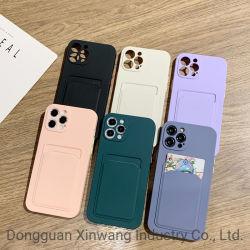 TPU 소프트 폰 커버 키 히트 컬러 카드 케이스 모바일 iPhone12 PRO Max 휴대폰 봉투의 전화 케이스
