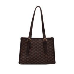 حقيبة صيف بسيطة 2021 سيدة الموضة الجديدة حقيبة يد الكتف حقيبة نسائية كبيرة السعة