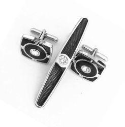 Fábrica da BSCI personalizada elegante Custom Metal Mens Rare Abalone Creme Shell Cufflinks vários estilo Moda Acessórios