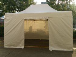 3X4.5م عرض تجاري خيمة طي الألومنيوم سهل مظلة منبثقة