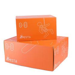 Kundenspezifischer Druck Farbe Karton Mail Black Box Karton Verpackung Mailer Wellpappe für Kleidung