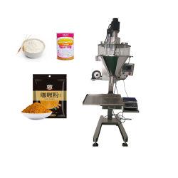 DJ-1b3 semi-automatique 1 kg sec/ soja /lait /épices/protéines/Curry/détergent/bouteille de poudre à laver/pot/boîte/boîte Et de conditionnement de sacs/pounches